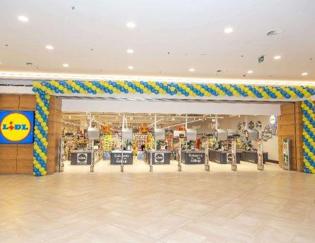 Lidl otvoril svoju 137. predajňu v obchodnom centre Polus v deň svojich 15. narodenín