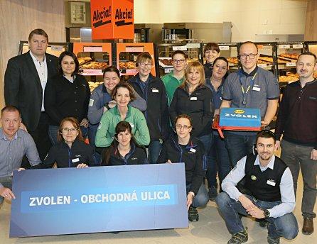Lidl otvoril vo Zvolene svoju tretiu a celkovo 142. predajňu na Slovensku
