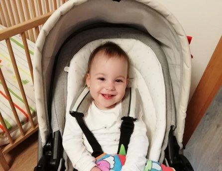 Usmievavá Izabelka sa neočakávane narodila predčasne. S váhou 1040 g od prvých chvíľ bojovala o svoj život.