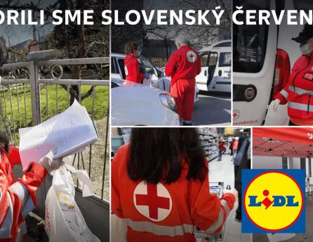 Spoločnosť Lidl sa spojil so svojim konkurentom a spoločne podporili Slovenský Červený kríž