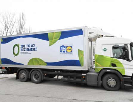 Lidl rozširuje svoj vozový park o ďalšie kamióny s CNG pohonom