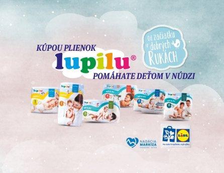 Lidl a Lupilu - Od začiatku v dobrých rukách