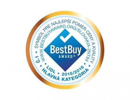 Best Buy Award - hlavná kategória