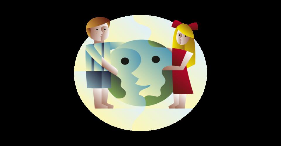 Ilustrácia pre mantru spoločenskej zodpovednosti