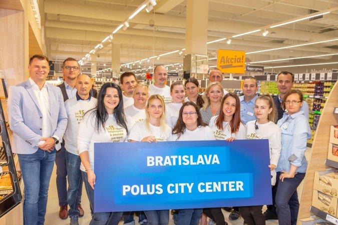 Slávnostné otvorenie 137. predajne Lidl naSlovensku