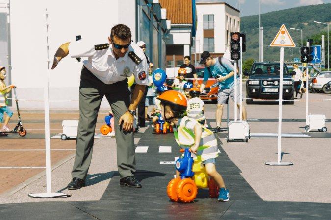 Slávnostné otvorenie detského dopravného ihriska od Lidl